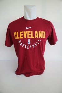 Kaos Basket Cleveland Merah New