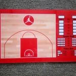 Coach Board Medium Jordan Merah