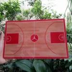 Coach Board Small Jordan Merah