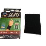Wristband Avo Hitam Polos