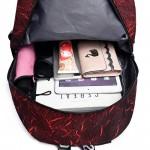 Tas Ransel Backpack Printing Merah