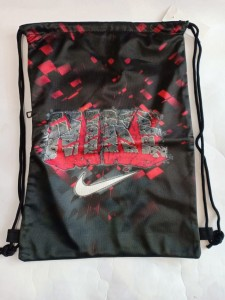 Tas Serut Nike Printing Merah