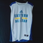 Jersey Basket Atasan Adidas Biru Putih