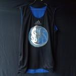 Jersey Basket Atasan Adidas Hitam Biru