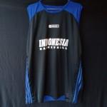 Jersey Basket Atasan Indo Hitam Biru Baru