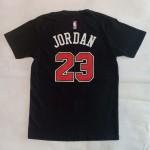 Kaos Basket Chicago Jordan Hitam