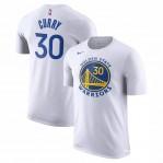 Kaos Basket Golden State Warrior Curry Putih