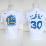 Kaos Basket Golden State Warrior Curry Putih