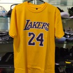 Kaos Basket Lakers Bryant Kuning
