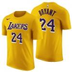 Kaos Basket Lakers Bryant Kuning