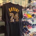 Kaos Basket Lakers Bryant Hitam