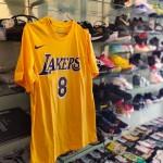 Kaos Basket Lakers Bryant Kuning 8