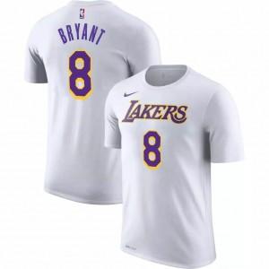 Kaos Basket Lakers Bryant Putih