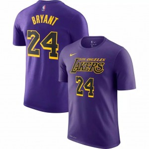 Kaos Basket Lakers Bryant Ungu