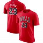 Kaos Basket Bulls Jordan Merah