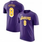 Kaos Basket Lakers Bryant Ungu 8