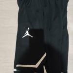 Celana Basket Jordan Hitam List Putih