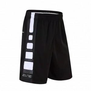 Celana Basket Nike Elite Hitam Putih Import