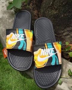 Sandal Slide Basket Nike Multicolor